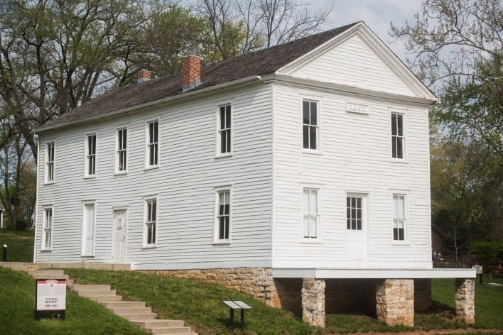 Lecompton Constitution, Lecompton, Bleeding Kansas, National Landmark, KSHS, oldest building in Kansas, Kansas history,