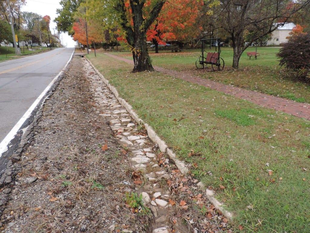 stone curbing