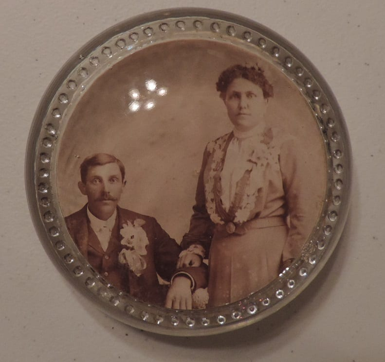 Jennie Nuffer married Charles Zeeb on December 19th, 1902, not too far from Lecompton, KS.