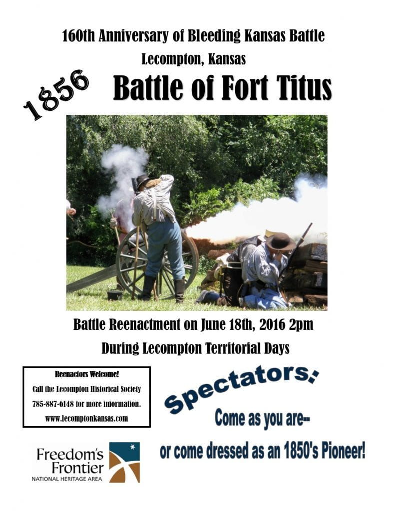 Battle of Fort Titus join the fun