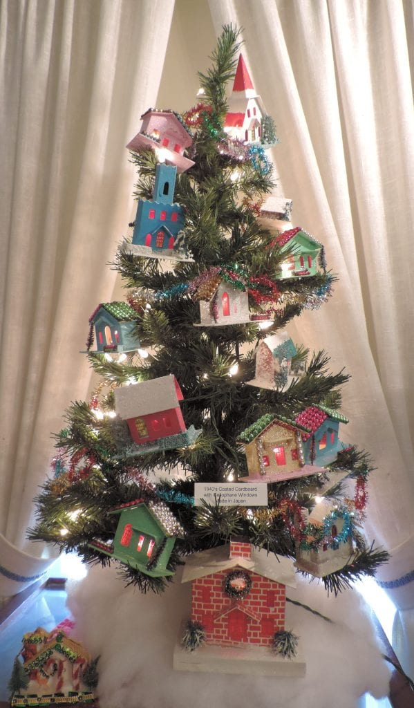 Christmas tree houses,
