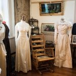 Lecompton, Kansas, wedding dress, Lane University