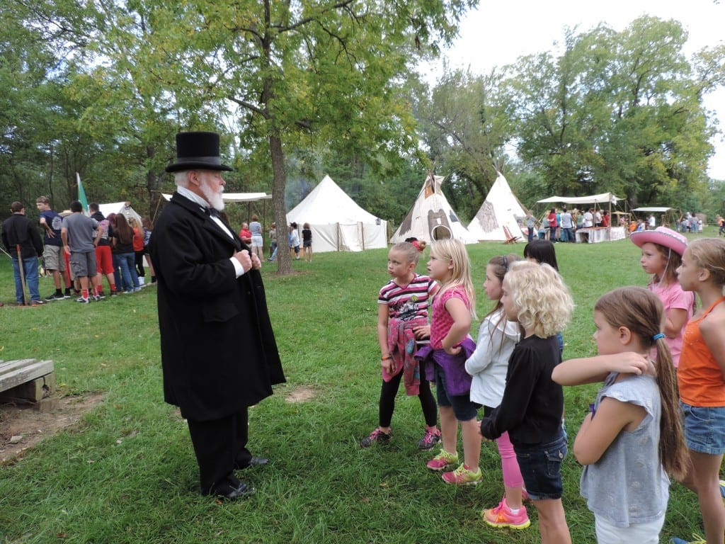Bald Eagle Rendezvous, Kansas river, free events for schools, Lecompton