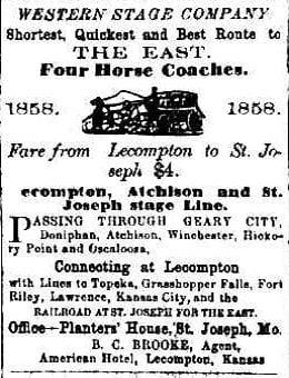 Kansas National Democrat [Lecompton] December 29, 1859