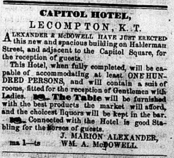 Lecompton Union April 28, 1856