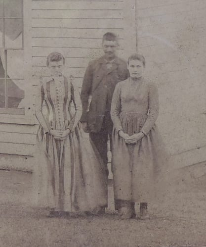 Left to Right: Mary, Bill, and Nora Cummings