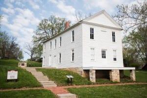 Lecompton Constitution, Lecompton, Kansas Historic Site, National Landmark, Kansas Territory
