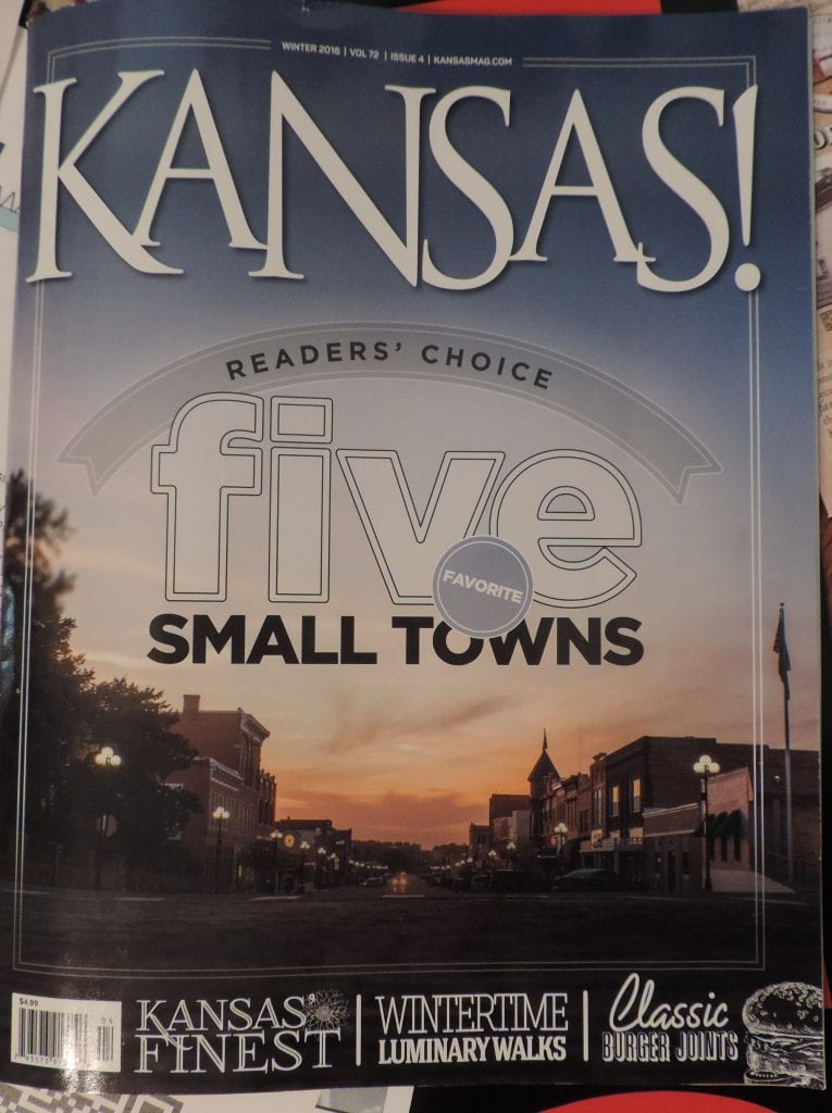 Winter 2016 edition of Kansas! Magazine