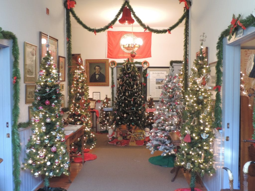 Christmas trees, Lecompton, Midwest, Antique, Vintage