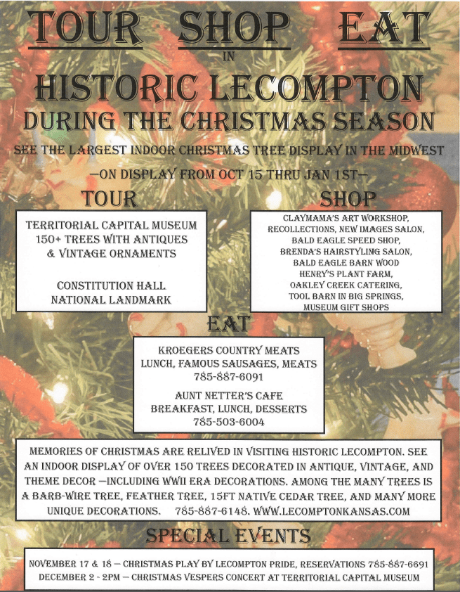 Christmas in Lecompton